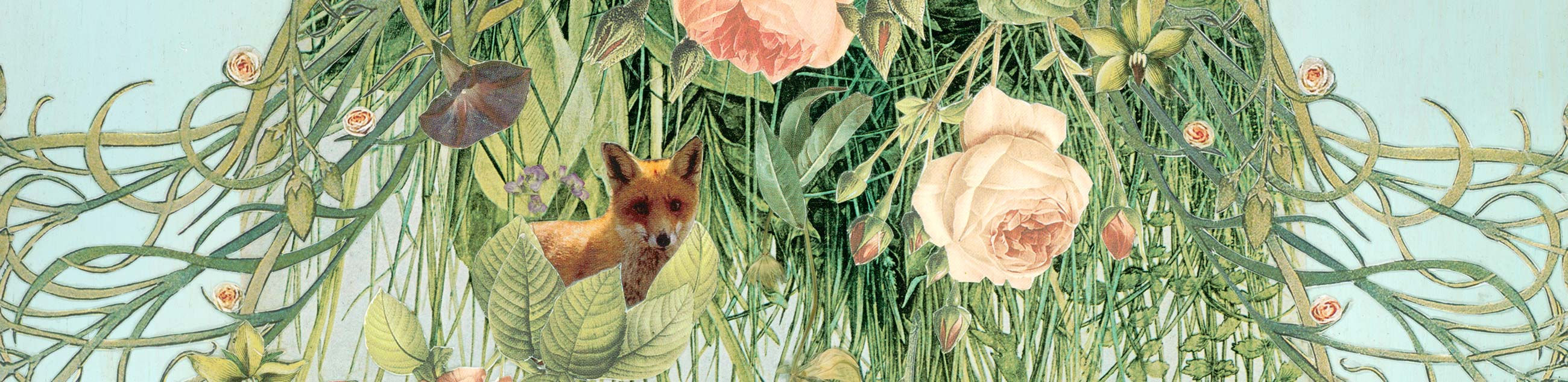 Found Fables Collage