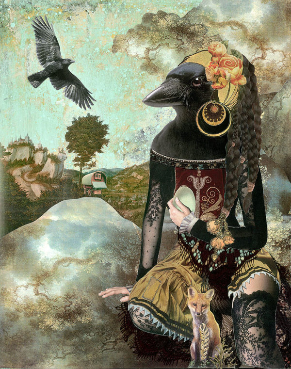 Gypsy Crow ~ Found Fables Kindred