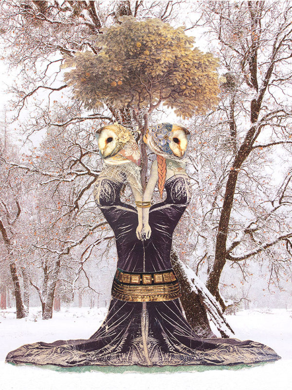 Owl Sisters ~ Found Fables Kindred