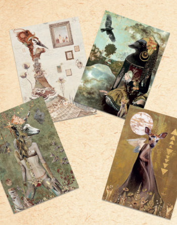 Shapeshifter Postcard Set Found Fables