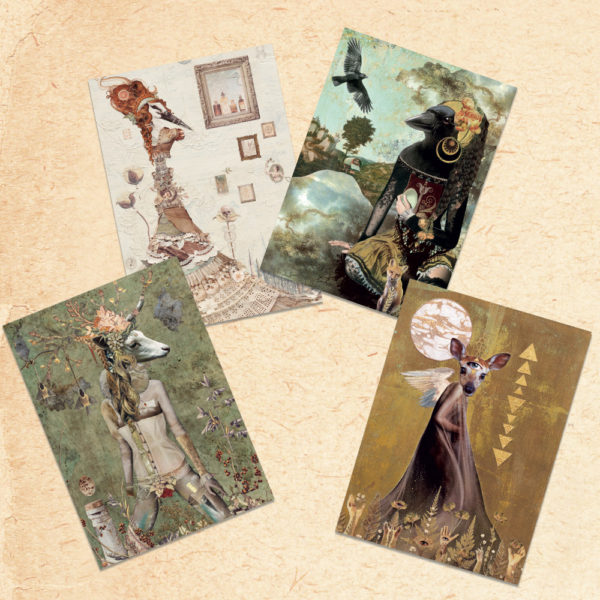 Found Fables - Shapeshifter Postcard Set Found Fables